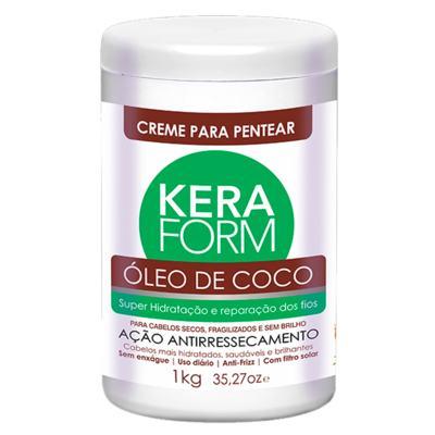 Skafe Keraform Óleo de Coco - Creme para Pentear - 1kg