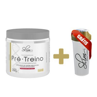 Imagem 1 do produto Pre Treino Slim -  Grátis Uma Coqueteleira. -