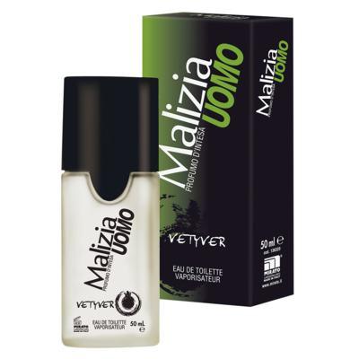 Imagem 2 do produto Malizia Vetyver Profumo D'intesa Malizia - Perfume Masculino - Eau de Toilette - 50ml