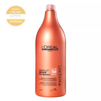 Imagem 2 do produto L'Oréal Professionnel Absolut Repair Pós-Química Kit - Shampoo 1,5L + Condicionador 1,5L - Kit