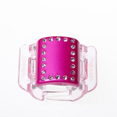 Imagem 1 do produto Prendedor de Cabelos Linziclip Pearlised Diamante - Hot Pink