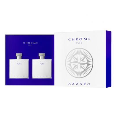 Imagem 2 do produto Azzaro Chrome Pure Kit - Perfume + Pós-Barba - Kit