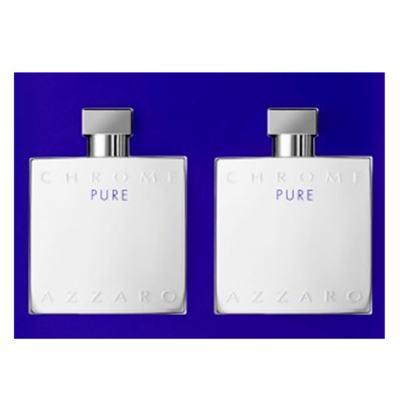 Imagem 3 do produto Azzaro Chrome Pure Kit - Perfume + Pós-Barba - Kit