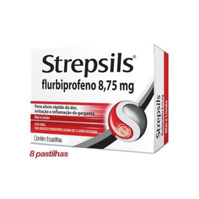 Imagem 3 do produto Strepsils Sabor Mel e Limão 8 pastilhas - 100ml