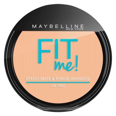 Fit Me! Maybelline - Pó Compacto para Peles Clara - 110 - Claro Real