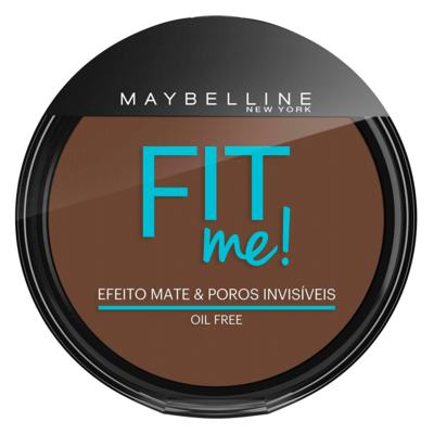 Fit Me! Maybelline - Pó Compacto para Peles Escuras - 340 - Escuro Autêntico