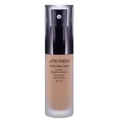 Synchro Skin Lasting Liquid Foundation SPF 20 Shiseido - Base Líquida - R3 - Rose 3