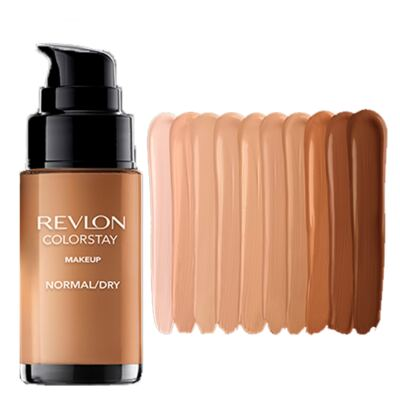 Imagem 3 do produto Colorstay Pump Normal Dry Skin Revlon - Base Líquida - 370 Toast