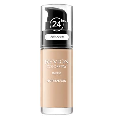 Imagem 1 do produto Colorstay Pump Normal Dry Skin Revlon - Base Líquida - 180 Sand Beige