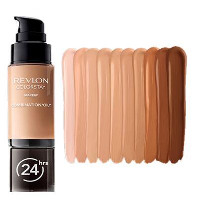 Imagem 3 do produto Colorstay Pump Combination/Oily Skin Revlon - Base Líquida - Natural Beige