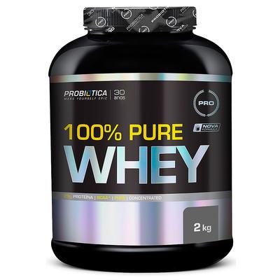 Imagem 1 do produto 100% Pure Whey Protein 2kg Chocolate Probiótica