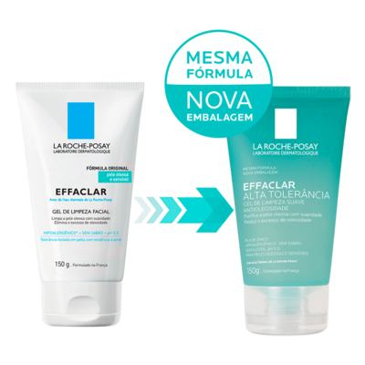 Imagem 2 do produto Gel de Limpeza Facial La Roche-Posay - Effaclar Alta Tolerância - 150g