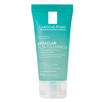 Gel de Limpeza Facial La Roche-Posay - Effaclar Alta Tolerância - 60g