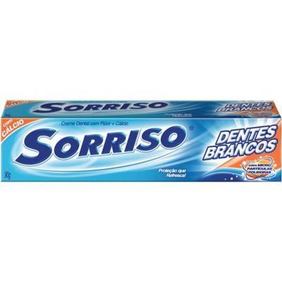 Imagem 2 do produto Creme Dental Sorriso 90g Flúor Mais Cálcio -
