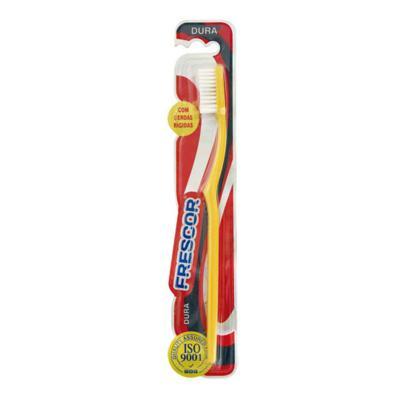 Escova Dental Frescor Básica Dura Cores Sortidas - 1 unidade
