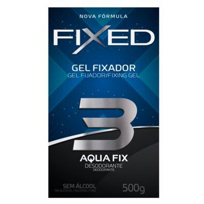 Imagem 2 do produto Fixed Gel Fixador Desodorante Azul Grande - Finalizador - 500g