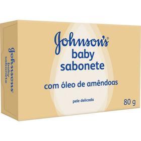 Sabonete Em Barra Johnson's Baby - Com Óleo De Amêndoas | 80g