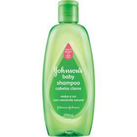 Shampoo Johnsons Baby - Cabelos Claros Camomila | 200ml