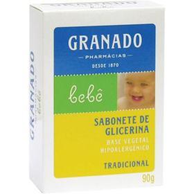 Sabonete Barra Glicerinado Granado - Tradicional | 90g