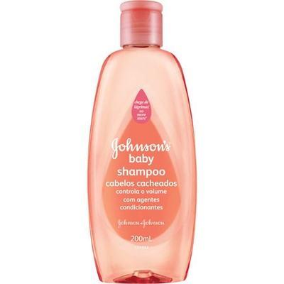 Imagem 1 do produto Shampoo Infantil Johnson Cacheados 200ml