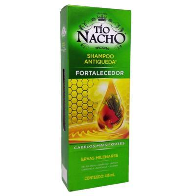 Shampoo Antiqueda Tio Nacho Ervas Milenares 415ml