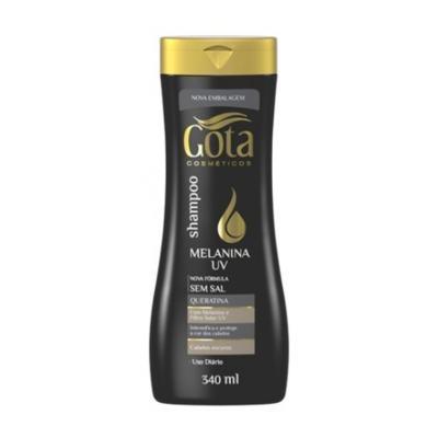 Shampoo Gota Cosméticos Melanina Uv 340ml