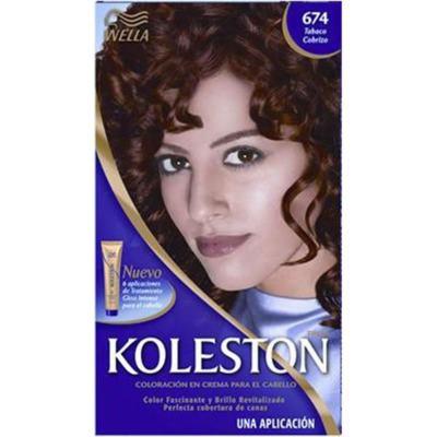 Tintura Permanente Koleston 674 Chocolate Acobreado