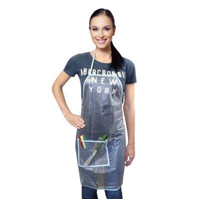 Imagem 1 do produto Avental para Tintura Santa Clara em PVC Transparente