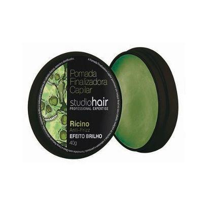 Imagem 1 do produto Pomada Finalizadora Studio Hair Rícino Anti-Frizz 40g -