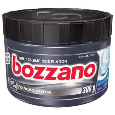 Imagem 2 do produto Gel Creme Modelador Bozzano Fixação Média 300ml -
