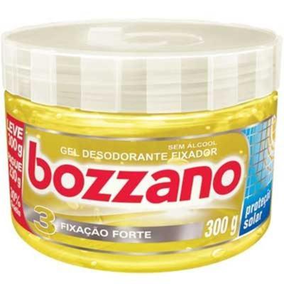 Gel Fixador Bozzano 3 Amarelo Forte 300g