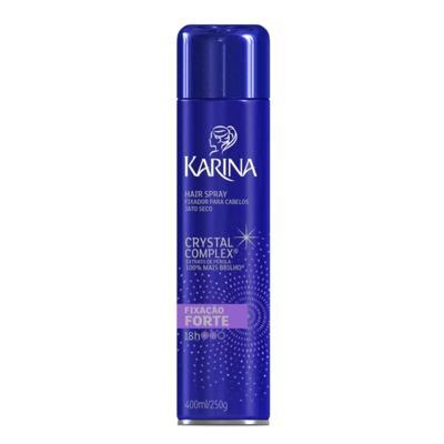 Hair Spray Karina Fixação Forte 400ml