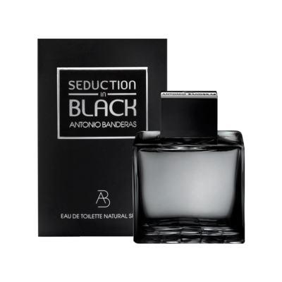 Imagem 1 do produto Seduction In Black Splash Eau De Toilette Masculino by Antonio Banderas - 200 ml