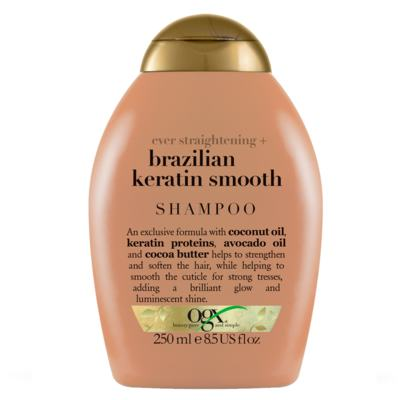 Imagem 1 do produto Shampoo Ogx - Brazilian Keratin Smooth | 250ml
