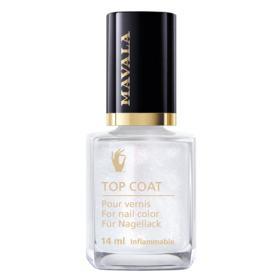 Star Top Coat Mavala - Cobertura Brilhante - Silver