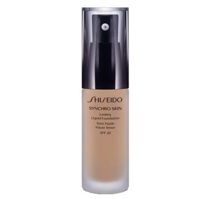 Imagem 1 do produto Synchro Skin Lasting Liquid Foundation SPF 20 Shiseido - Base Líquida - N3 - Neutral 3