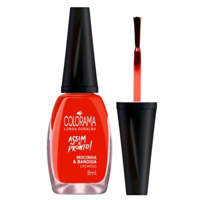 Imagem 4 do produto Esmalte Colorama - Assim e Pronto - Mocinha e Bandida
