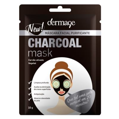 Máscara Facial Dermage - Charcoal Mask - 10g