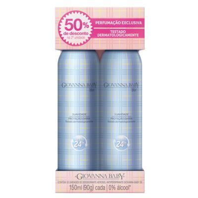 Imagem 1 do produto Blue Desodorante Giovanna Baby - Desodorante Aerosol - 2x 150ml