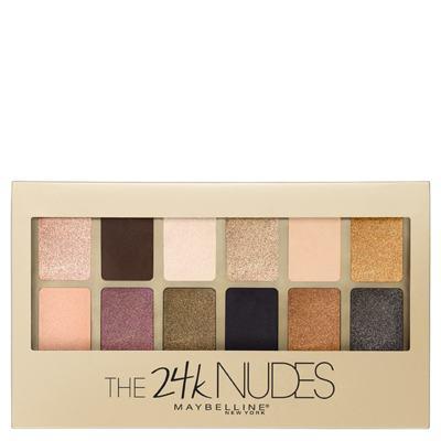 Paleta de Sombra Maybelline - The 24k Nudes Palette Gold - 1 Un