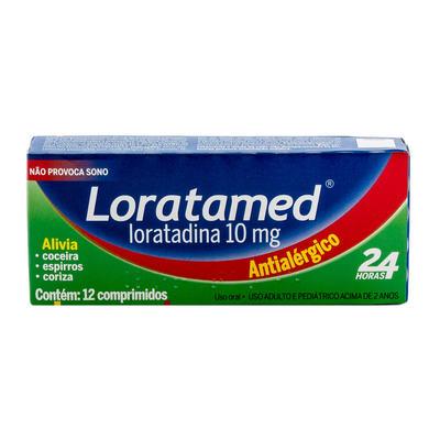 Imagem 3 do produto Loratadina - Loratamed Comprimido - 10mg, caixa com 12 comprimidos - Cimed -