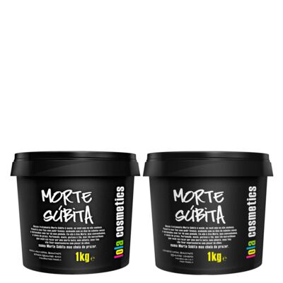 Imagem 1 do produto Kit Shampoo + Máscara Reconstrutora Lola Cosmetics Morte Súbita Super Hidratante - Kit