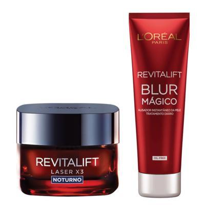 Imagem 1 do produto Kit Revitalift L'Oréal Paris - Aperfeiçoador da Pele + Rejuvenescedor Facial - Kit