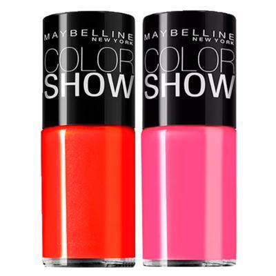 Imagem 3 do produto Pedi Perfect Amopé + Color Show Maybelline - Kit B Esfoliador Eletrônico + 2 Esmaltes Color Show - Kit