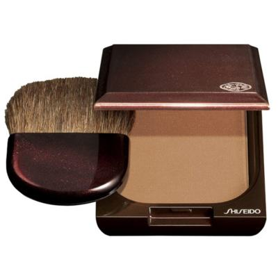 Bronzer Oil Free Shiseido - Pó Compacto Bronzeador - 02 - Medium Naturel