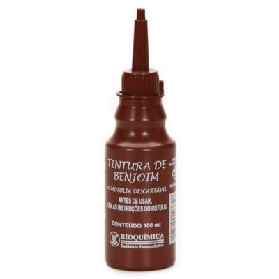 Tintura De Benjoim Solução 20% Rioquimica 100ml