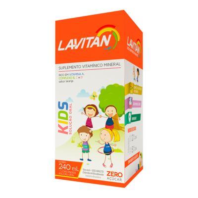 Imagem 1 do produto Lavitan Kids Solução 240ml