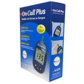 Kit para Controle de Glicemia On Call Plus