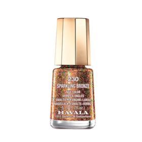 Esmalte Mavala Mini Color Glitter - 230 - Sparkling Bronze | 5ml