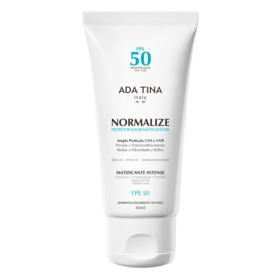 Protetor Solar Ada Tina - Normalize Matte Intense FPS 50 - 40ml